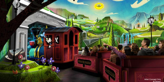 """Mouse rules"" reign supreme at the Mickey & Minnie Runaway Railway, WDW News said."