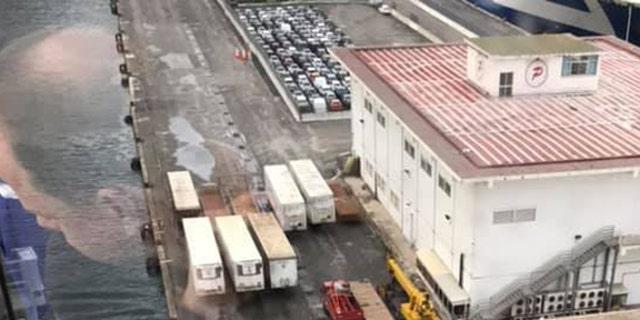 Brand New £650 Million Cruise Liner, MSC GRANDIOSA, Crashes Into Pier
