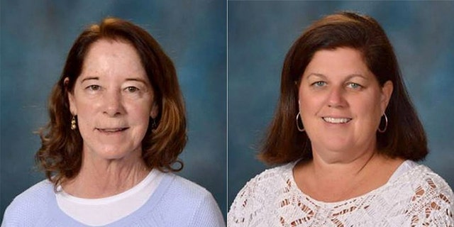 "A former priest was charged in connection with the hit-and-run crash that killed Margaret ""Rone"" Leja, 61, left, and left Elizabeth Kosteck, 54, right, in serious condition"