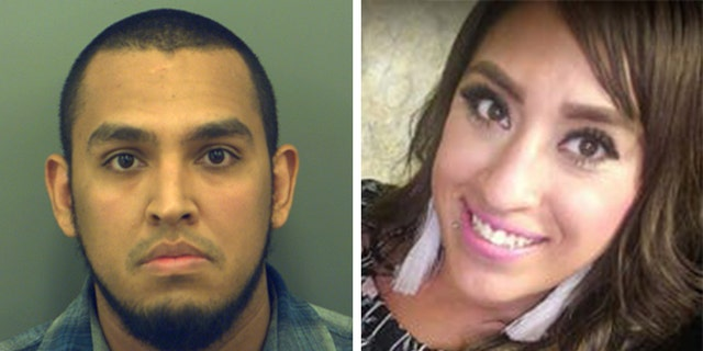 Authorities said Ricardo Marquez, 28, killed Erika Andrea Gaytan, 29, inside his east El Paso home, and he used his brother's Jeep to move her body. (El Paso Police Department)