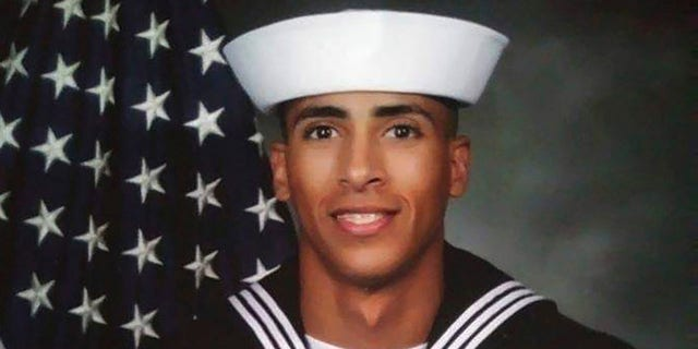 This undated photo provided by the U.S. Navy shows Airman Mohammed Sameh Haitham, from St. Petersburg, Fla. He has been identified as one of the victims of the shooting Friday, Dec. 6, 2019, at Naval Air Station Pensacola, Fla.