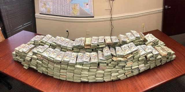 North Carolina authorities found $3 million in suspected drug money during a traffic stop.