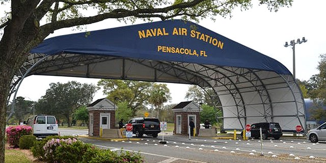 The incident happened at Naval Air Station Pensacola in Florida