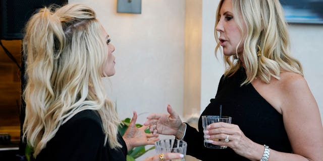 THE REAL HOUSEWIVES OF ORANGE COUNTY -- Pictured: (l-r) Tamra Judge, Vicki Gunvalson