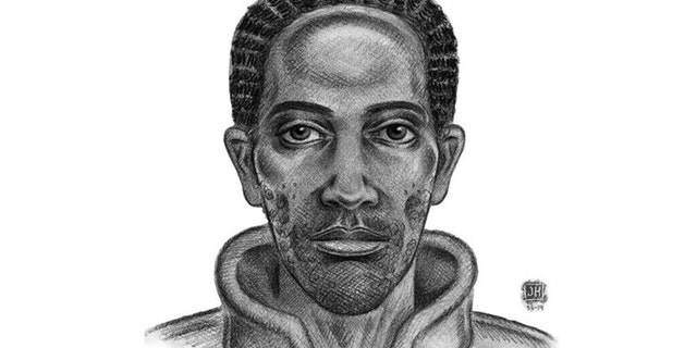 A sketch of the suspect wanted in the Nov. 11 attack in the Bronx.