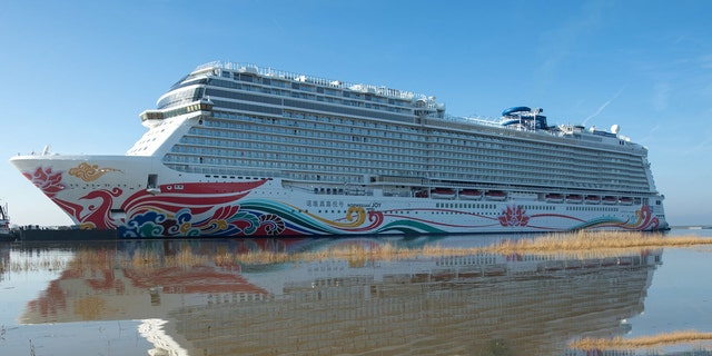 "The Norwegian Joy cruise ship docked at the Port of Los Angeles Sunday morning after 20 passengers reported an ""unspecified illness,"" fire officials said."