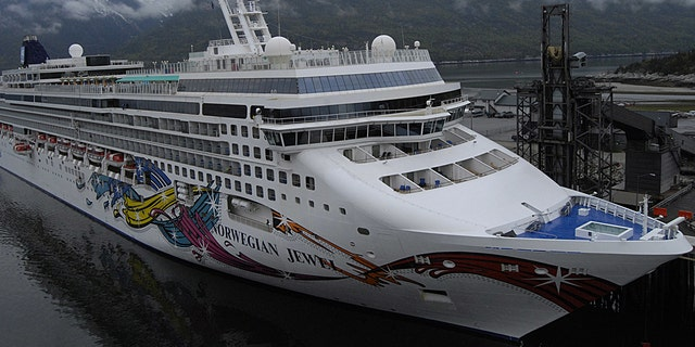 The Norwegian Jewel is shown May 23, 2012. (Getty Images)