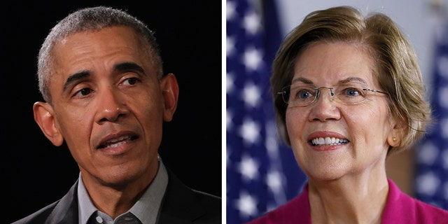 Westlake Legal Group Obama-Warren_Getty-AP Obama tells big-money Dem donors to back Warren if she wins nomination: report Louis Casiano fox-news/politics/2020-presidential-election fox-news/person/elizabeth-warren fox-news/person/barack-obama fox news fnc/politics fnc article 3e6c514a-357f-56d1-a99e-c0d35b973584