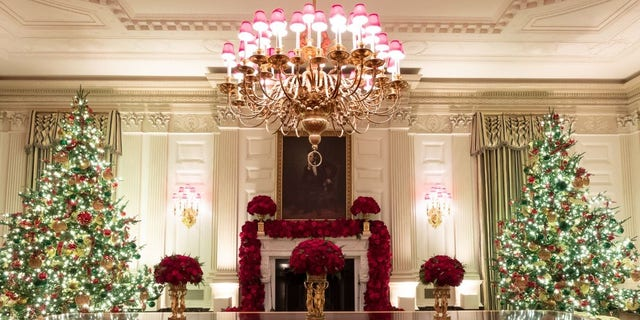 Westlake Legal Group Official-White-House-Photo-by-Andrea-Hanks-22 White House unveils Christmas decor with 'Spirit of America' theme Janine Puhak fox-news/special/occasions/holiday fox-news/lifestyle fox-news/house-and-home fox news fnc/real-estate fnc article 69dedc76-82d9-50d9-afb9-1deb816e314e /FOX NEWS/LIFESTYLE/REAL ESTATE