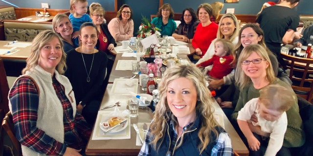This group of women in Wisconsin surprised waitress Michele Bachmann, a cancer survivor who had lost her sister to the disease in October, with a $1,300 tip for Christmas.