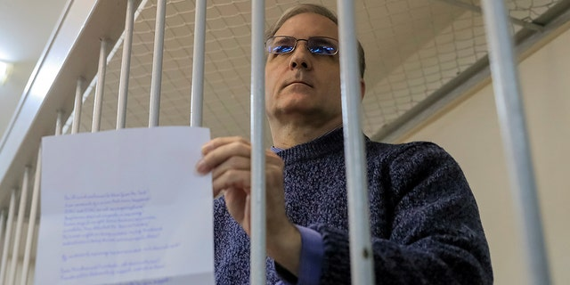 Former U.S. Marine PaulWhelan, who was incarcerated and indicted of espionage. Russian officials pronounced Tuesday that Whelan's allegations of hurt and health problems valid false. (REUTERS/Tatyana Makeyeva/File Photo)