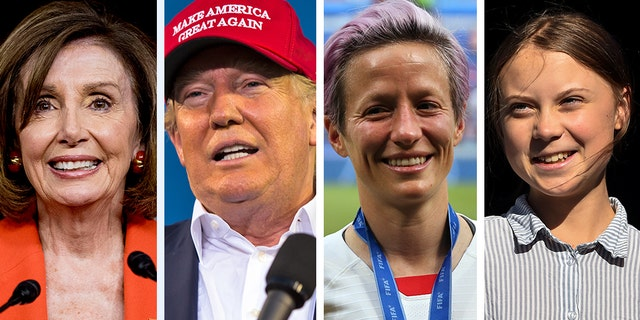 Westlake Legal Group Person-of-the-Year Trump joins Nancy Pelosi, Greta Thunberg, whistleblower as Time 'Person of the Year' finalists Joseph Wulfsohn fox-news/person/nancy-pelosi fox-news/person/megan-rapinoe fox-news/person/mark-zuckerberg fox-news/person/donald-trump fox-news/media fox news fnc/media fnc article 63d83f32-723b-531f-9996-9a0072a149bc