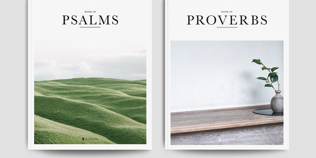Alabaster Co's books of Psalms and Proverbs are their most popular items created by millennials for millennials.