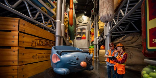 "Remy's Ratatouille Adventure will open in Epcot's France pavilion next summer, offering a ""super-sized adventure with Chef Remy through Gusteau's restaurant."""