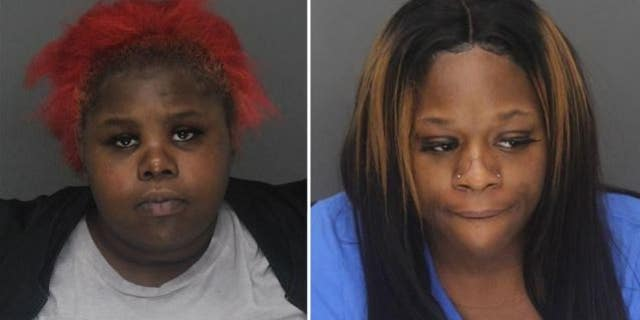 Markayla Darvay Pruitt, left, and Zetorria Frances Ellis were arrested last week on charges of evading arrest.