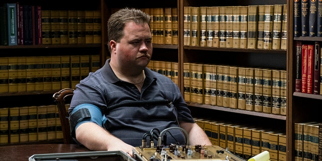 "This image released by Warner Bros. Pictures shows Paul Walter Hauser in a scene from ""Richard Jewell."""