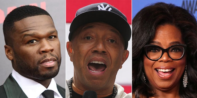50 Cent and Russell Simmons were vocal on their social media accounts about Oprah Winfrey's involvement in the sexual assault documentary.