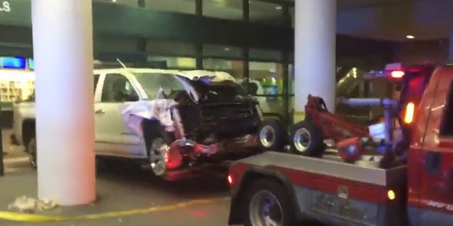 The airport president has since said the airport will be operational in time for any scheduled flights, minus a single baggage belt that the truck damaged during the crash.