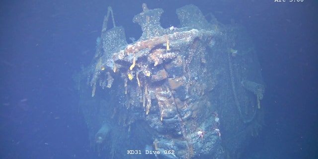 The wreck was discovered after a five-year search.