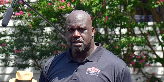 Shaquille O'Neal has clapped back atformer Papa John's CEO John Schnatter's recent remarks about the quality of the pizza chain's food.