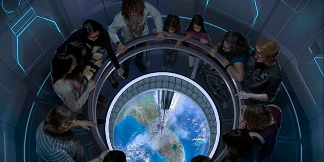 "Space 220 hopes to give guests the sensation of dining ""220 miles above the Earth's surface."""