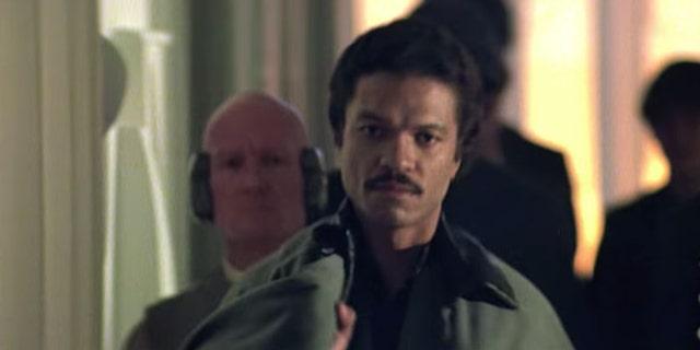 "Billy Dee Williams as Landa Calrissian in ""The Empire Strikes Back."""