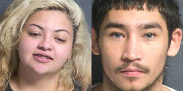 """Police sayMarin, 22, andaccomplice Angelo Rey Espinosa, 19, were apprehended """"within minutes"""" of the crime."""