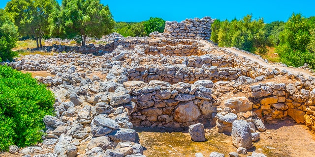 Ruins of Talayot Capocorb Vell at Mallorca, Spain, one of the megalithic monuments found on the island - file photo.