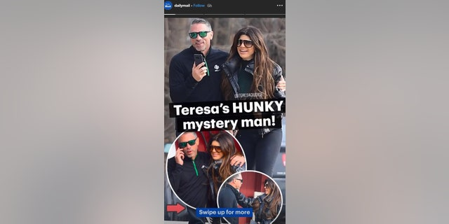 A few photos of Teresa Guidice's rendezvous with Tony Lorenzo were shared on Daily Mail's Instagram story. (Photo credit: Daily Mail/Instagram)