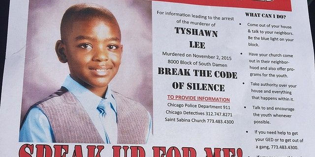 "Tyshawn Lee was 9 years old when he was killed in November 2015. His grandmothers said he was ""just an innocent little boy."""