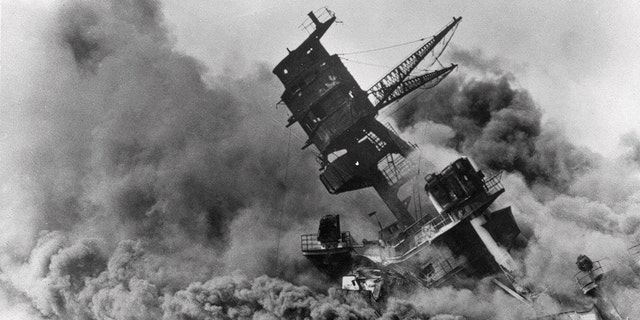 Westlake Legal Group USS-Arizona-AP Pearl Harbor attack remembered in somber 78th anniversary ceremony Robert Gearty fox-news/world/world-regions/japan fox-news/us/us-regions/west/hawaii fox-news/us/military/navy fox-news/us/military/marines fox-news/us/military/honors/pearl-harbor fox-news/us/military/army fox-news/us/military/air-force fox-news/us/military fox news fnc/us fnc article 82b0b662-9e6f-5819-bc1e-6b84d2b57ae6