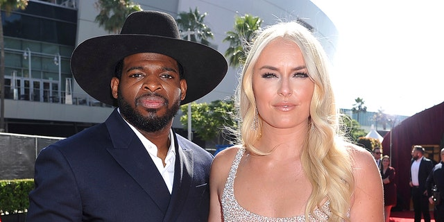 Lindsey Vonn and P.K. Subban ended their engagement in December. (Photo by Richard Shotwell/Invision/AP, File)