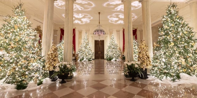 Westlake Legal Group White-House-Christmas-2019-16 White House unveils Christmas decor with 'Spirit of America' theme Janine Puhak fox-news/special/occasions/holiday fox-news/lifestyle fox-news/house-and-home fox news fnc/real-estate fnc article 69dedc76-82d9-50d9-afb9-1deb816e314e /FOX NEWS/LIFESTYLE/REAL ESTATE