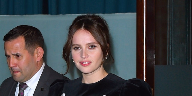 Felicity Jones Is Pregnant With Her First Child