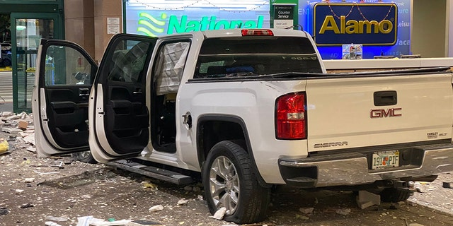 Truck Crashes Through Florida Airport, Smashes Into Car Rental Counter