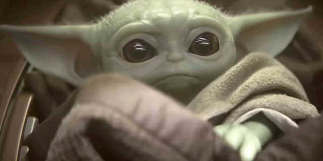 Baby Yoda cutes his way into The Sims 4