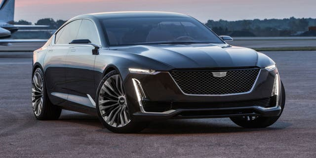 This 2016 concept sedan is named the Escala.