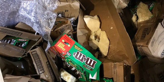 It wasn't rush hour, but rather a sugar rush that shut down part of a Tennessee interstate last week, when a tractor-trailer overturned and reportedly dumped 35,000 pounds of M&M's in the road.