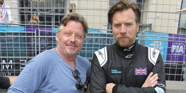 Boorman and McGregor attended the electric Formula E racing series event in Rome earlier this year.