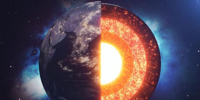 """A team of scientists including UT Austin researchers has found evidence for iron """"snow"""" in Earth's core."""