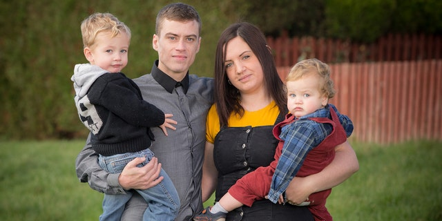 Emily Taylor and her family.