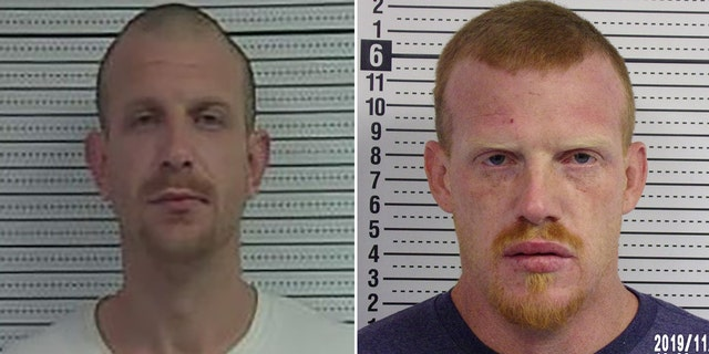 US News The McCracken brothers were reunited at the Jackson County Jail.