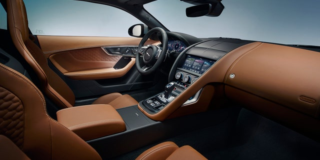 2021 Jaguar F-Type: The Villainous Brit Gets a New Face, Digital Gauge Cluster
