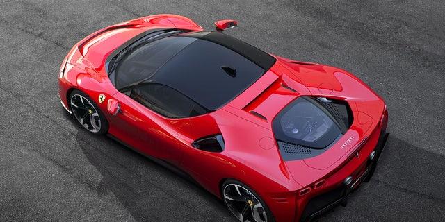 Westlake Legal Group fer1 Electric Ferrari not happening before 2025, CEO says Gary Gastelu fox-news/auto/make/ferrari fox-news/auto/attributes/performance fox-news/auto/attributes/electric fox news fnc/auto fnc d6eeb53a-7c2f-5a55-9eb0-77b299854625 article