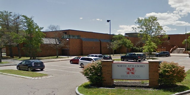 Several students at North Attleborough High School, which sits just 40 miles south of Boston, contacted school officials Monday immediately after they reportedly saw a sub smoking pot inside the building in front of students.