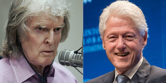 Don Imus, left, was never invited back to a Washington dinner after speaking with President Bill Clinton and first lady Hillary Clinton in attendance in 1996.
