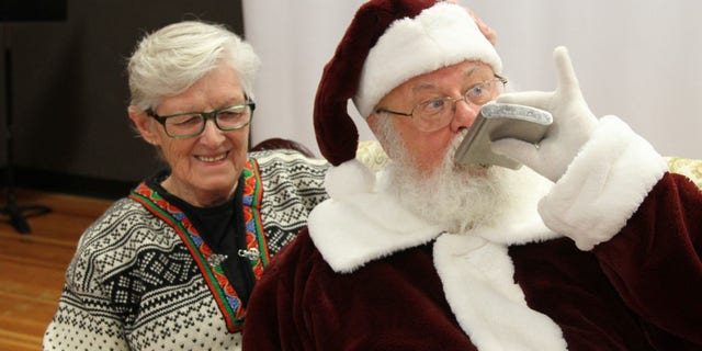 """""""My photographer and Ideveloped a reputation,"""" Gary Haupt told Fox News. """"I went into the job wanting to be the best Santa that community had seen."""""""