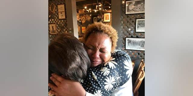 Ballard reportedly broke down in tears when she received the generous gratuity.