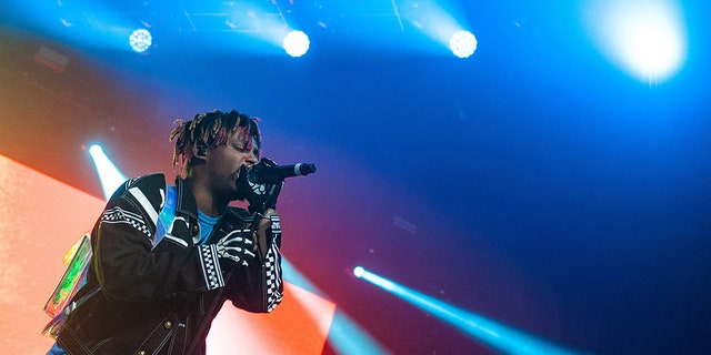 Juice WRLD, seen here in Chicago this past summer, reportedly suffered a seizure before his death.