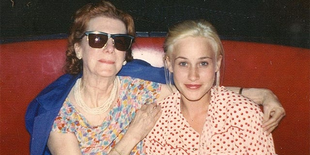 Kathy Wood with Patricia Arquette.